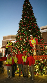 St. Louis MO Christmas Décor in St Louis Missouri Christmas Tree Decorating Crew
