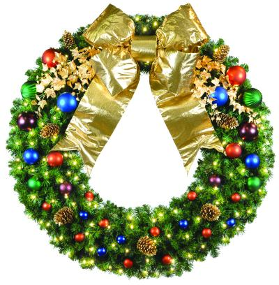 St. Louis Christmas Decor Custom Designs Holiday Wreaths for Residential and Commercial Customers in Saint Louis Missouri