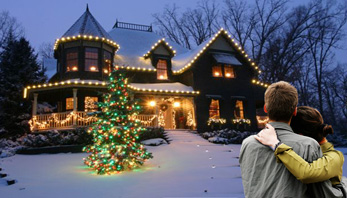 St. Louis Christmas Decor Will Design a Custom Holiday Decorated Display for Your Home